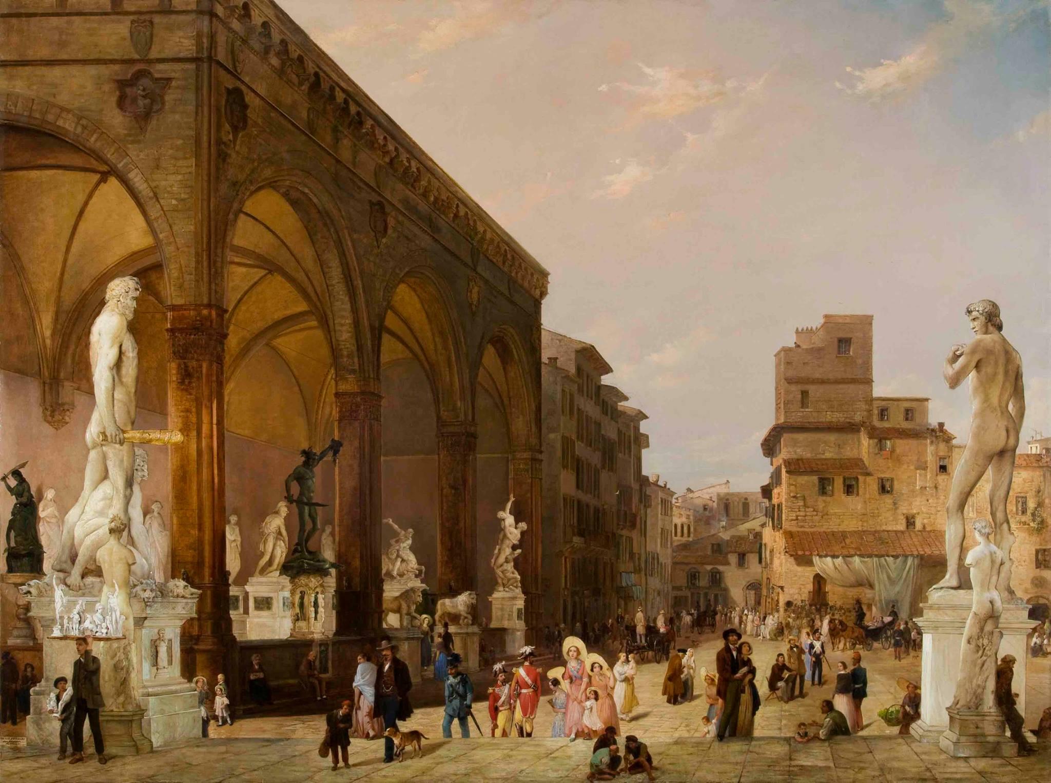 Database of Public Political Statuary in Renaissance Florence 1400-1600